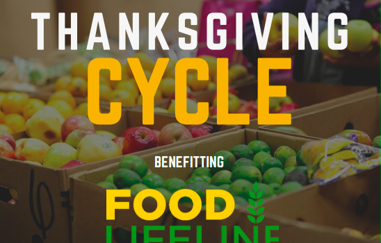 Thanksgiving Charity Cycle Class